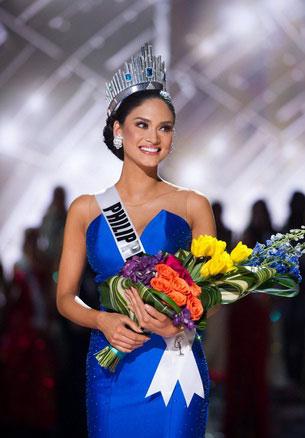 Pia Alonzo Wurtzbach is Miss Universe 2015