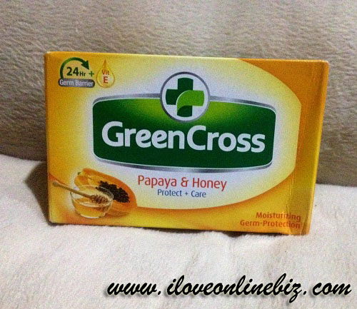 Green Cross Papaya & Honey Soap Review