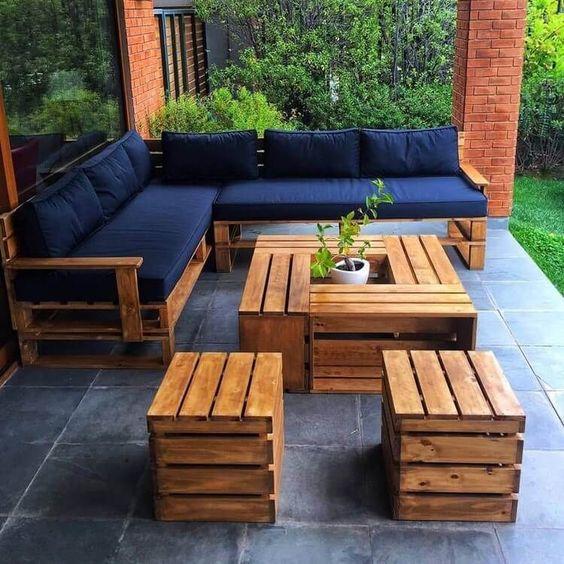 Jardin Disenos Muebles De Palets Novocom Top
