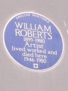 William Roberts's' Plaque