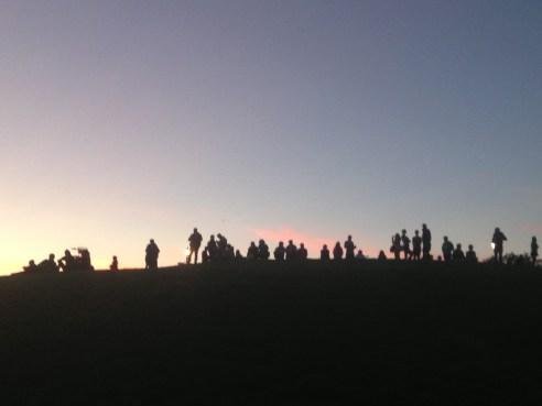 Sunset-spotters © 2013 iloveprimrosehill.com all rights reserved