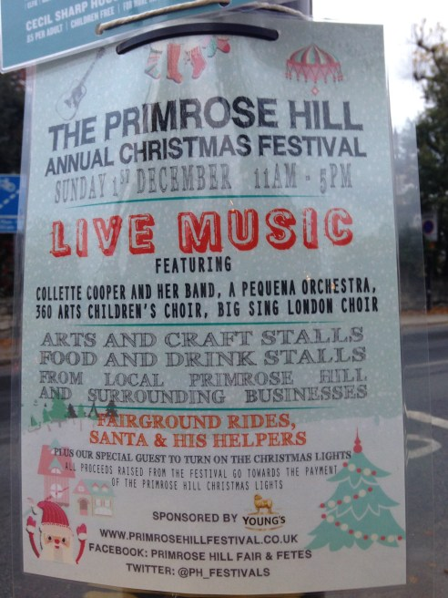 THE PRIMROSE HILL CHRISTMAS FESTIVAL 2013.   © 2013 iLovePrimroseHill.com, all rights reserved.