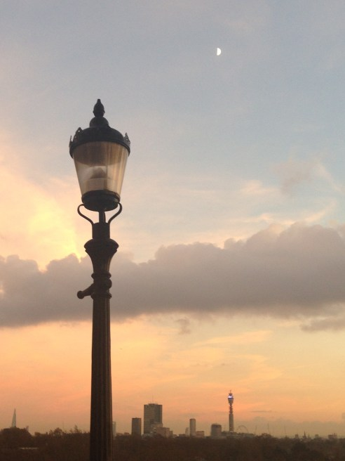 LAMP POST, VIEW, BT TOWER.   © 2013 iLovePrimroseHill.com, all right s reserved.