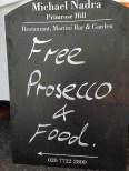 DID SOMEONE SAY 'FREE PROSECCO' MICHAEL NADRA?
