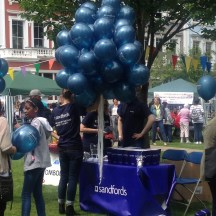 SANDFORDS SUPPLIED THE BALLOONS