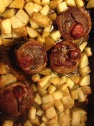 LAMB NOISETTES WITH CHORIZO FROM JACK O'SHEA; COMFORT FOOD AS THE NIGHTS START TO DRAW IN