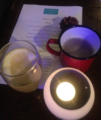 POIRE CHAUD AND MULLED BEER