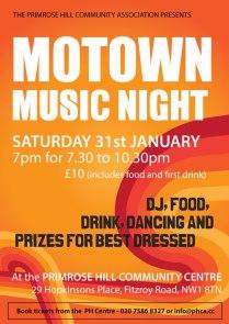 MOTOWN MUSIC NIGHT