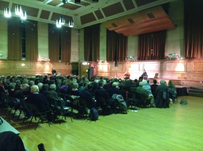 THE AUDIENCE AT CECIL SHARP HOUSE