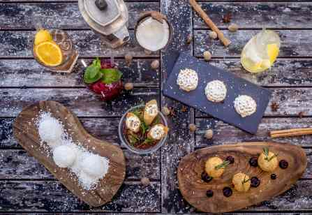 WINTER CHALET CANAPES