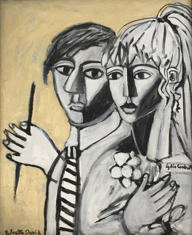 """""""Sylvette and Picasso, Young"""" by Lydia Corbett"""