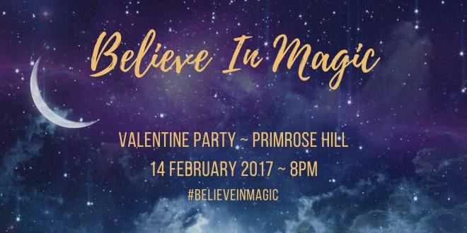 BELIEVE IN MAGIC VALENTINES BALL