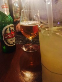KINGFISHER BEER AND HYDERABAD HIGHBALL