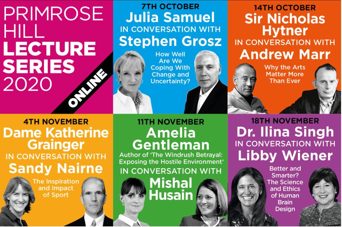 Primrose Hill Lectures 2020