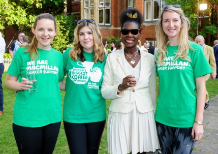 DAME FLOELLA BENJAMIN AND THE MACMILLAN TEAM