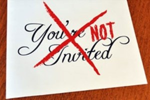 People You Should Not Invite On Your Wedding Day