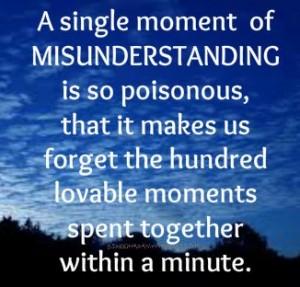 Some Tips to Avoid Misunderstandings in Relationship