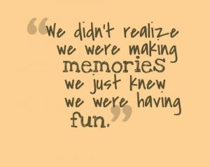 create happy memories with your partner
