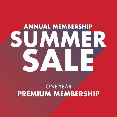 Summer Sale - Premium Membership