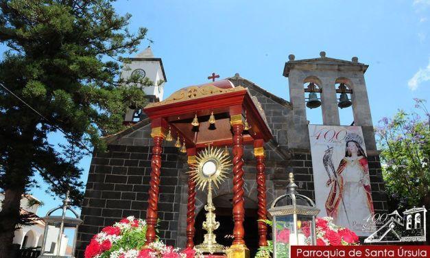 Corpus Christi en Santa Úrsula 2014