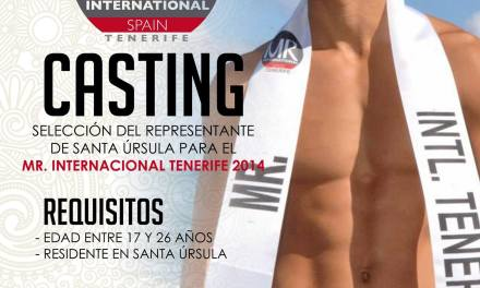 Casting Santa Úrsula – Mister Internacional Tenerife