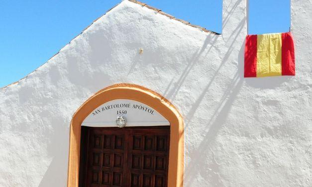 Se equivocan al escribir el nombre de la Ermita de San Bartolomé