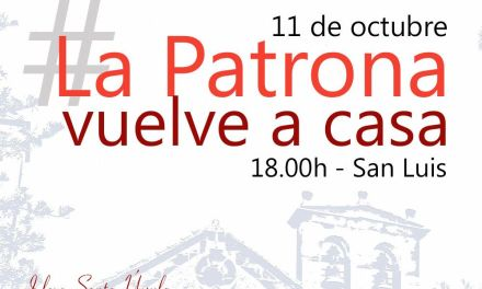11 de octubre: La Patrona Vuelve a Casa