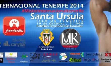 Mister Internacional Tenerife 2014