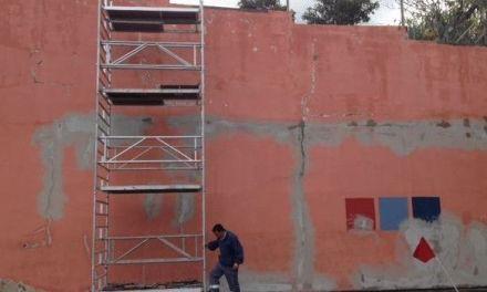 Obras de mejora del Campo de Fútbol Argelio Tabares en Santa Úrsula
