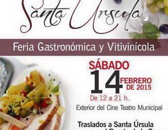 Saborea Santa Úrsula Feria Vitivinícula y Gastronómica