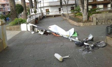 El viento causa destrozos en Santa Úrsula