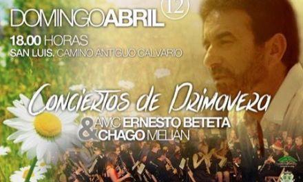 Concierto de Primavera con la A.M.C Ernesto Beteta y Chago Melián