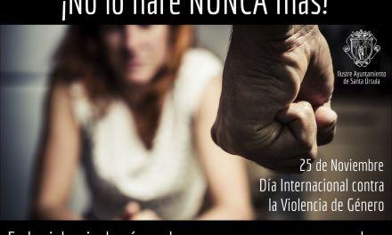Actividades con motivo del Día contra la violencia de Género