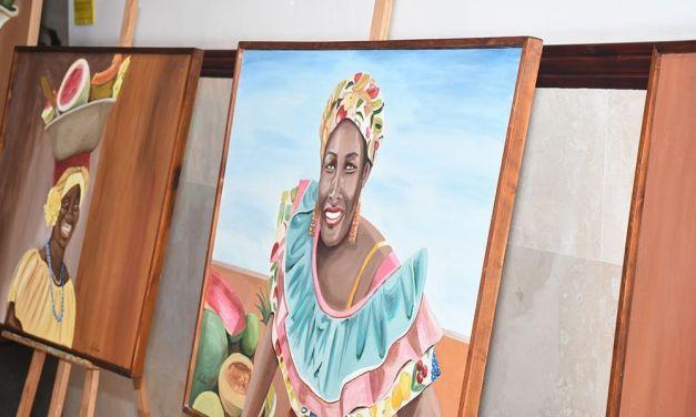 Exposición «Palanqueras» de Julia Chillón en Santa Úrsula