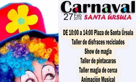 El Carnaval llega a Santa Úrsula este sábado 27 de febrero
