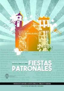 Cartel Oficial Fiestas Santa Úrsula 2016