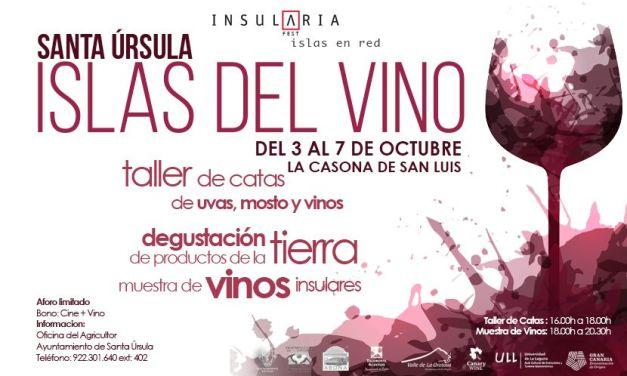 Islas del Vino – 3 al 7 de octubre