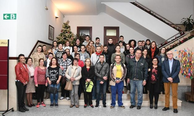 El Consistorio ofrece formación y experiencia laboral a una treintena de personas sin trabajo