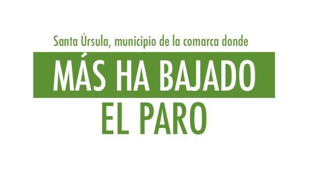 Santa Úrsula municipio de la comarca donde más baja el paro