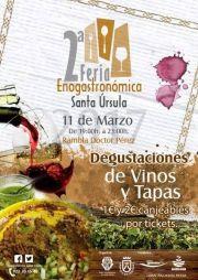 II Feria Enogastronómica Santa Úrsula | 11 de Marzo