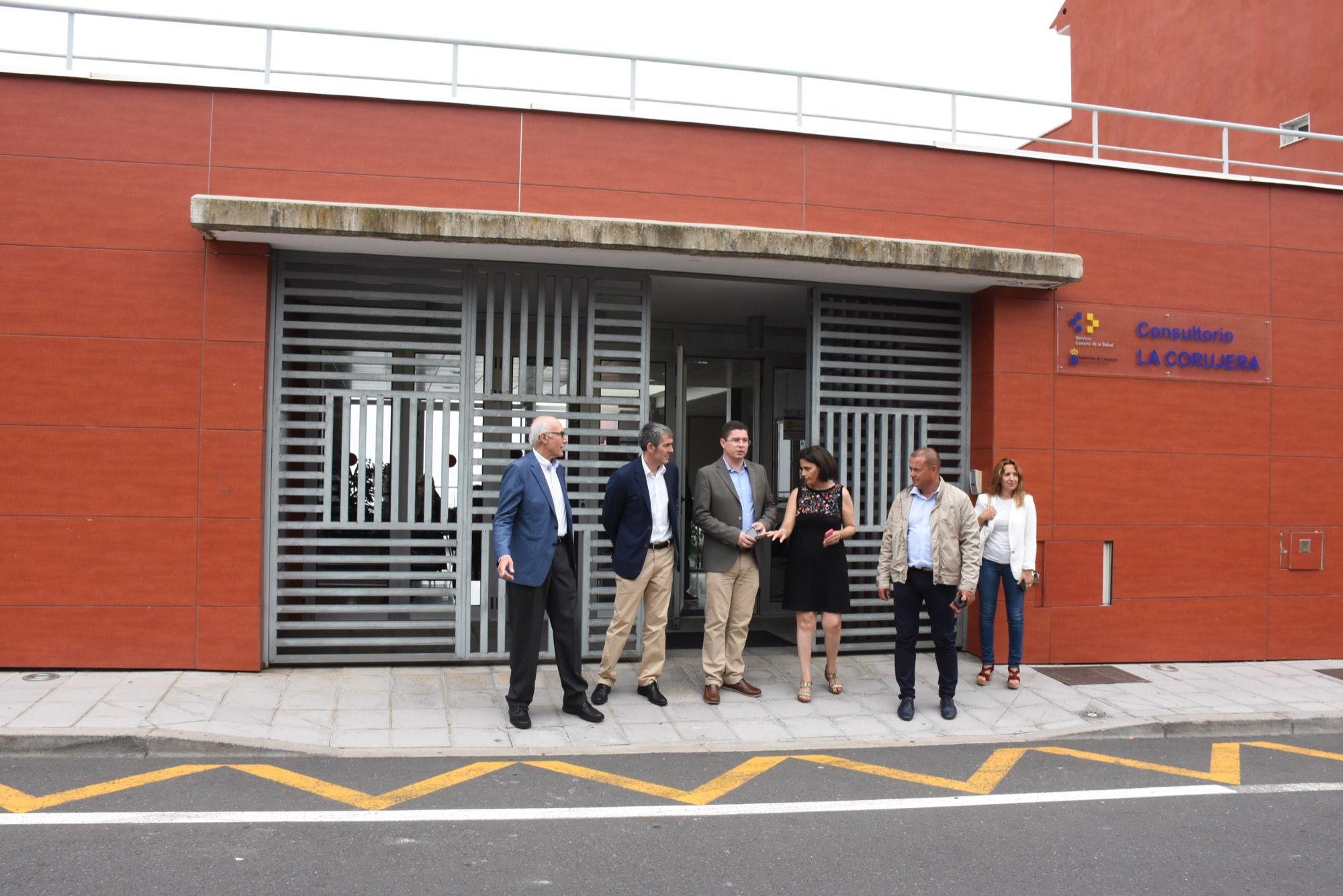 Visita presidente Canarias a Santa Úrsula