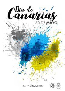 Cartel Día de Canarias en Santa úrsula