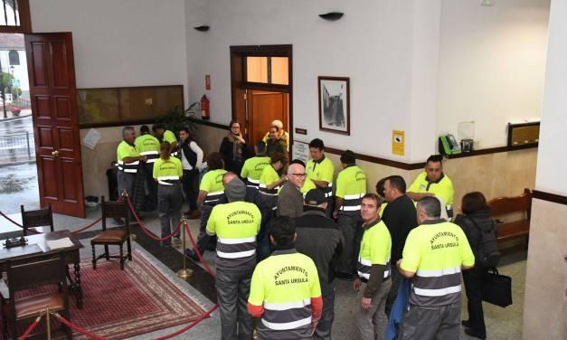 Santa Úrsula invierte 524.000€ para formación y empleo de medio centenar de vecinos