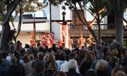 Más de mil personas disfrutan de la Representación de la Pasión de Cristo en Santa Úrsula