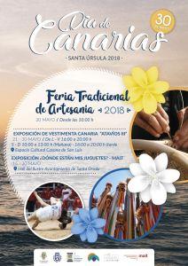 Cartel del Día de Canarias en Santa Úrsula