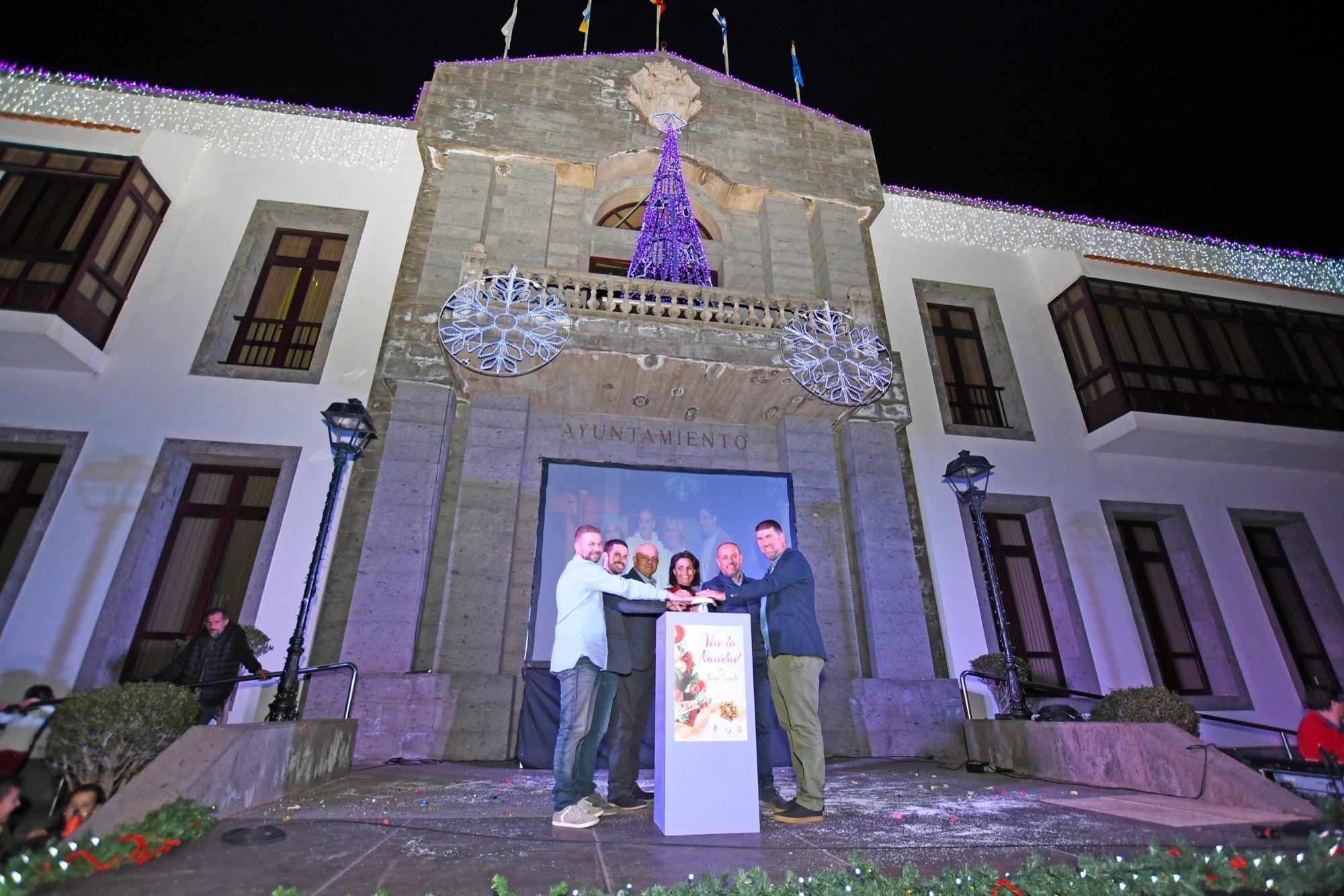 Encendido de Navidad en Santa Úrsula