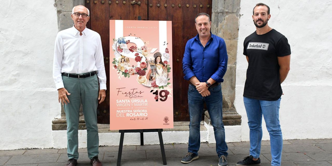 Santa Úrsula ya tiene cartel anunciador de las fiestas patronales