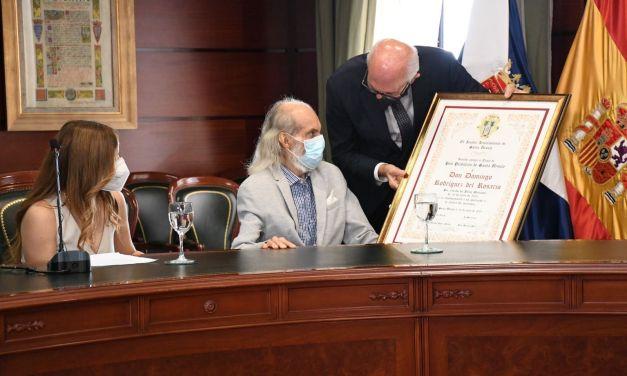 Domingo Rodríguez del Rosario recibe el título de Hijo Predilecto de Santa Úrsula