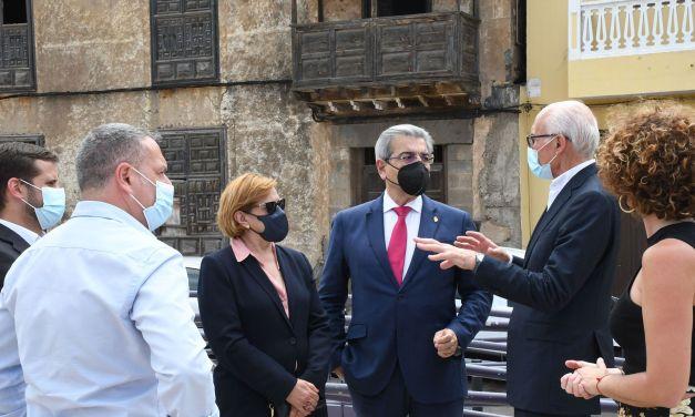 El Gobierno de Canarias invierte 210.000€ para la compra de la Casa de Los Capitanes