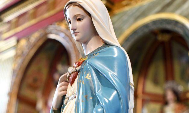 La Virgen Peregrina te espera en la Parroquia de Santa Úrsula